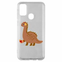 Чехол для Samsung M30s Dinosaur in sock