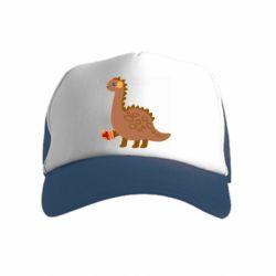 Детская кепка-тракер Dinosaur in sock