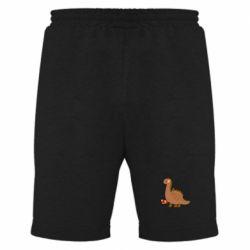 Мужские шорты Dinosaur in sock