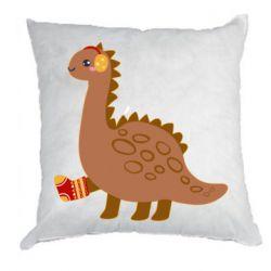 Подушка Dinosaur in sock