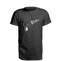 Подовжена футболка Dinosaur roar