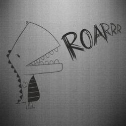 Наклейка Dinosaur roar