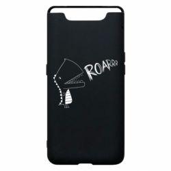Чохол для Samsung A80 Dinosaur roar
