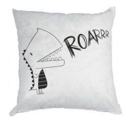 Подушка Dinosaur roar