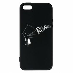 Чохол для iphone 5/5S/SE Dinosaur roar