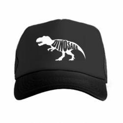Кепка-тракер Dinosaur text