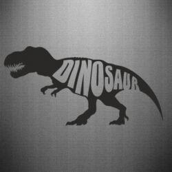 Наклейка Dinosaur text