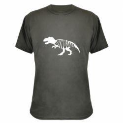 Камуфляжная футболка Dinosaur text