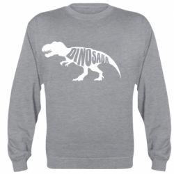 Реглан (свитшот) Dinosaur text