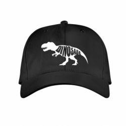 Детская кепка Dinosaur text