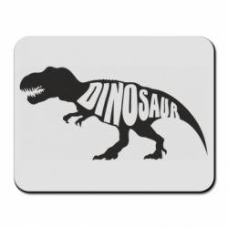Коврик для мыши Dinosaur text