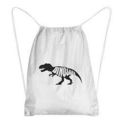 Рюкзак-мешок Dinosaur text
