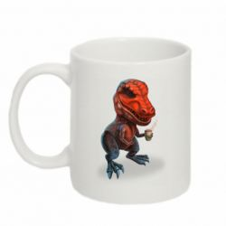 Кружка 320ml Dinosaur with coffee