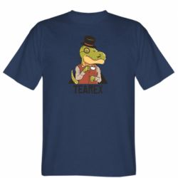 Чоловіча футболка Dinosaur with tea