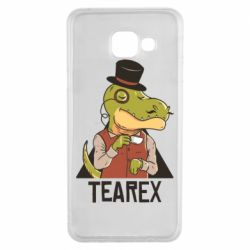 Чохол для Samsung A3 2016 Dinosaur with tea