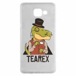 Чохол для Samsung A5 2016 Dinosaur with tea