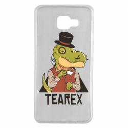 Чохол для Samsung A7 2016 Dinosaur with tea