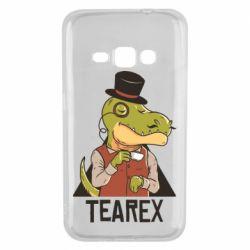 Чохол для Samsung J1 2016 Dinosaur with tea