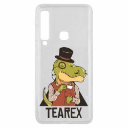 Чохол для Samsung A9 2018 Dinosaur with tea