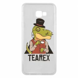 Чохол для Samsung J4 Plus 2018 Dinosaur with tea