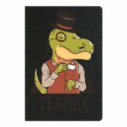 Блокнот А5 Dinosaur with tea
