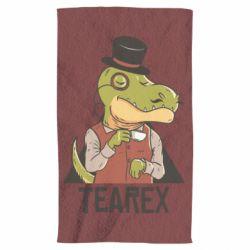 Рушник Dinosaur with tea