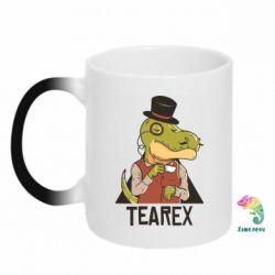 Кружка-хамелеон Dinosaur with tea