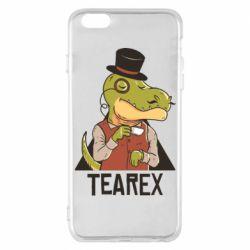 Чохол для iPhone 6 Plus/6S Plus Dinosaur with tea