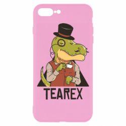 Чохол для iPhone 7 Plus Dinosaur with tea