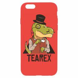 Чохол для iPhone 6 Dinosaur with tea