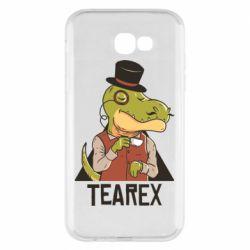 Чохол для Samsung A7 2017 Dinosaur with tea