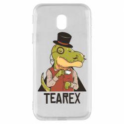 Чохол для Samsung J3 2017 Dinosaur with tea