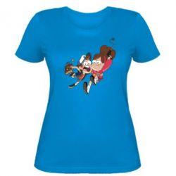 Женская футболка Диппер и Мэйбл