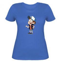 Женская футболка Диппер