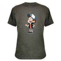 Камуфляжная футболка Диппер - FatLine