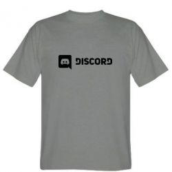 Чоловіча футболка Discord