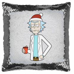 Подушка-хамелеон Dissatisfied Rick