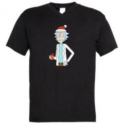 Чоловіча футболка з V-подібним вирізом Dissatisfied Rick