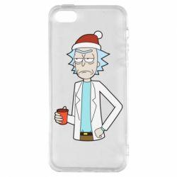 Купить Авторские принты, Чехол для iPhone5/5S/SE Dissatisfied Rick, FatLine