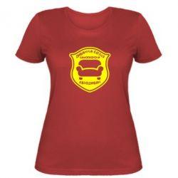 Женская футболка Диванна сотня. Євродиван - FatLine