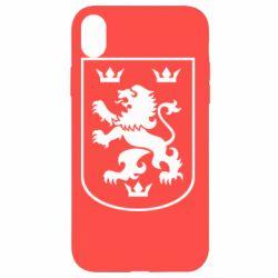 Чехол для iPhone XR Division Galician