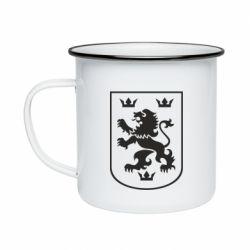 Кружка емальована Division Galician