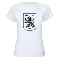 Женская спортивная футболка Division Galician