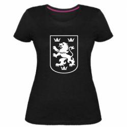 Женская стрейчевая футболка Division Galician