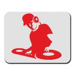 Килимок для миші Dj Logo
