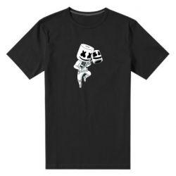 Мужская стрейчевая футболка DJ marshmallow 1