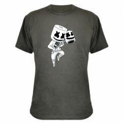 Камуфляжная футболка DJ marshmallow 1