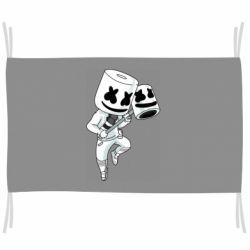 Флаг DJ marshmallow 1