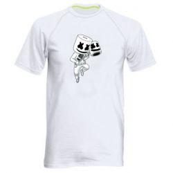 Мужская спортивная футболка DJ marshmallow 1
