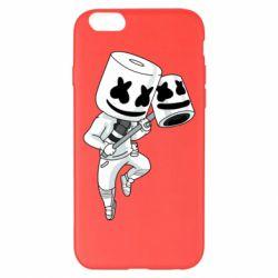 Чехол для iPhone 6 Plus/6S Plus DJ marshmallow 1